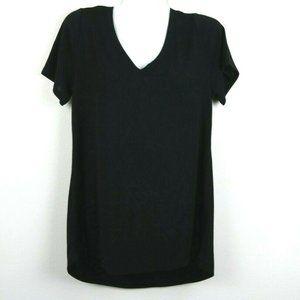 LulaRoe Womens Blouse Christy T Short Sleeve Solid